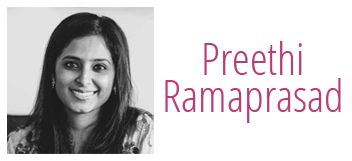 Preethi Ramaprasad Logo